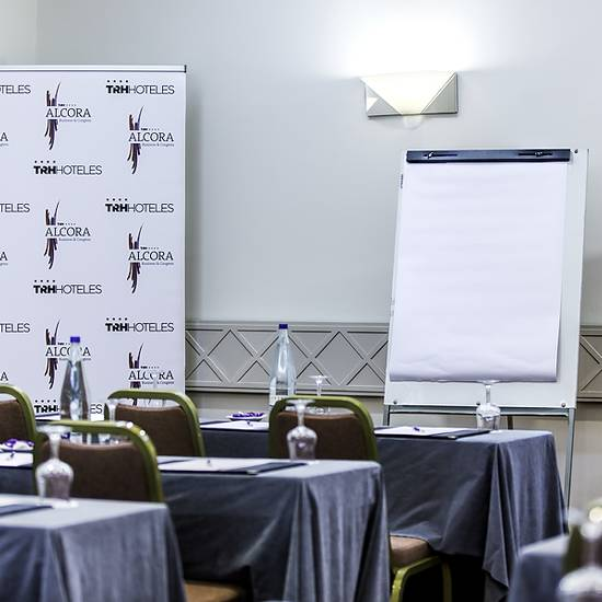 EQUIPMENT FOR MEETINGS Alcora Business & Congress Hotel -